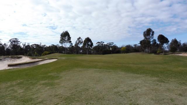 The 1st Green at Eynesbury Golf Club