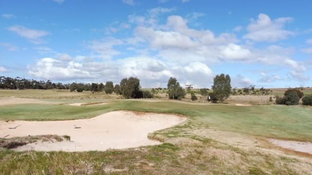 The 6th Green at Eynesbury Golf Club