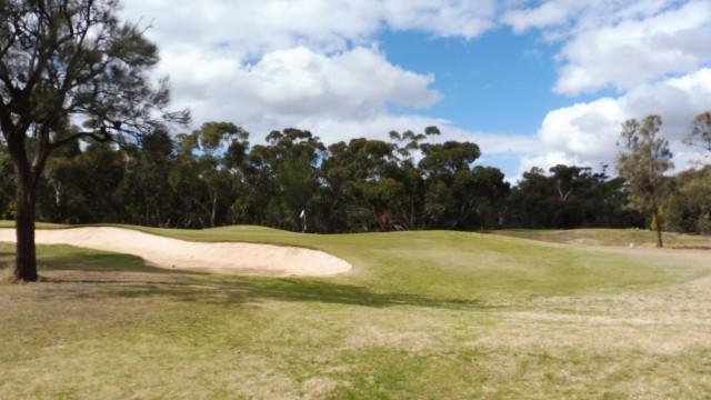 The 9th Green at Eynesbury Golf Club
