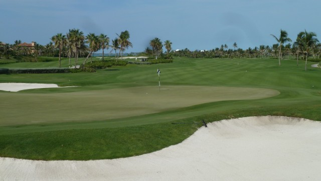 The 13th Green at the Ocean Club