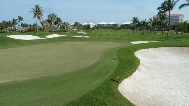 The 15th Green at the Ocean Club