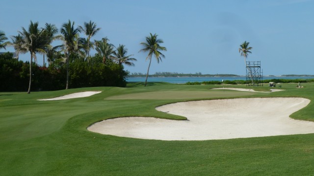The 16th Green at the Ocean Club