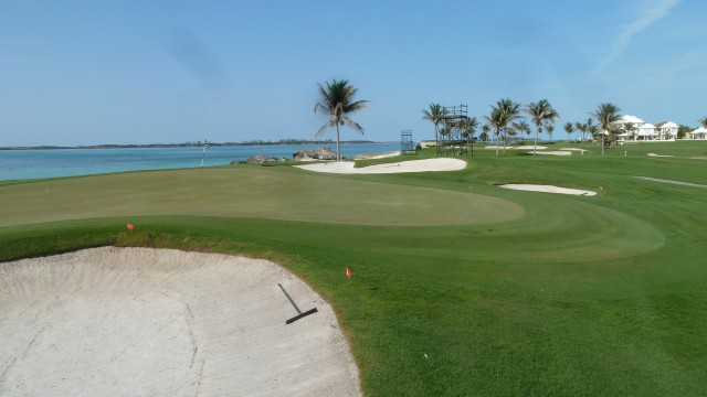 The 17th Green at the Ocean Club