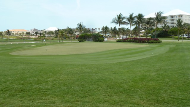 The 1st Green at the Ocean Club