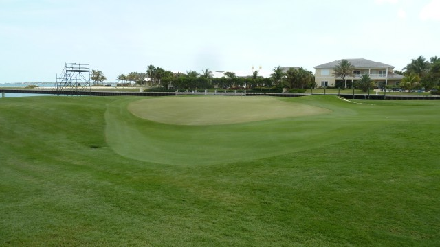 The 2nd Green at the Ocean Club