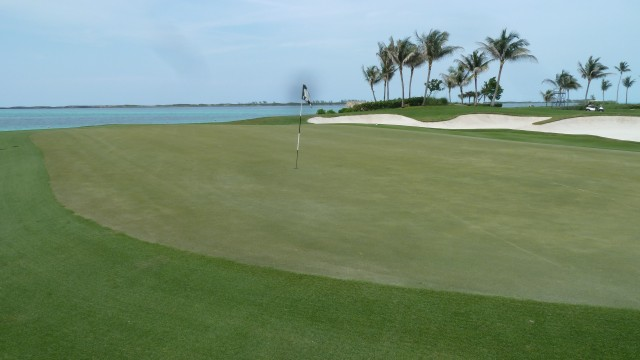 The 8th Green at the Ocean Club