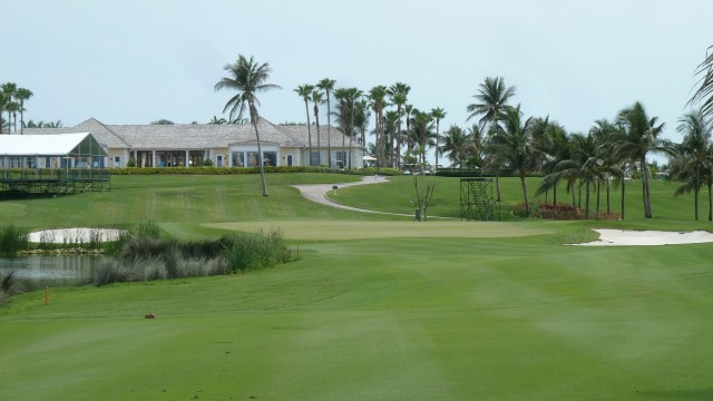 The 9th Green at the Ocean Club