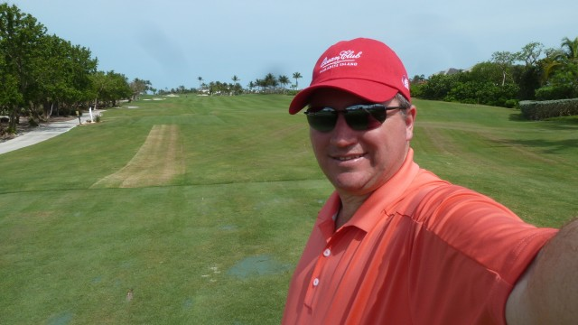Me on 10th Tee at the Ocean Club
