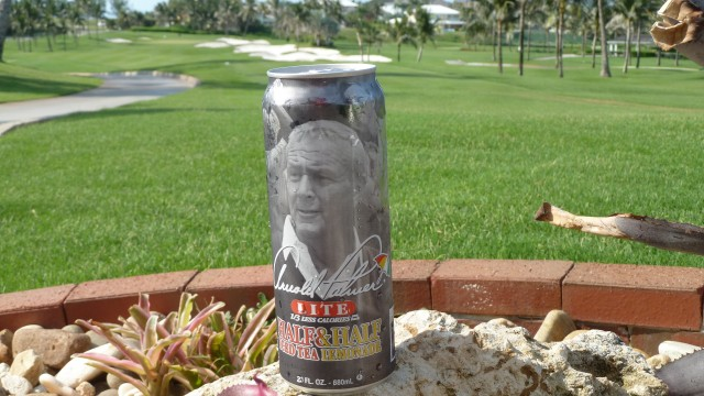 My first Arnold Palmer at the Ocean Club