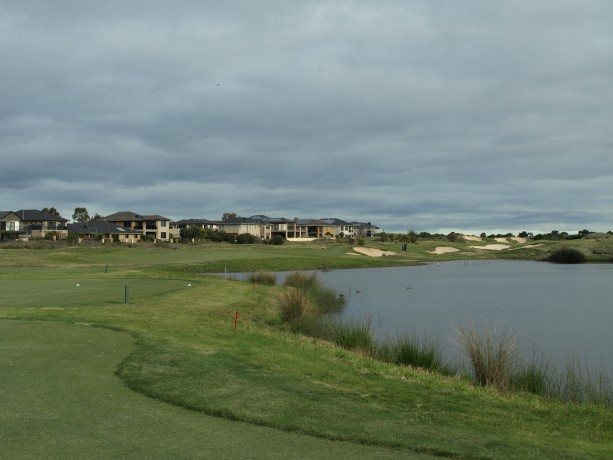 The 8th Tee at Sanctuary Lakes Club