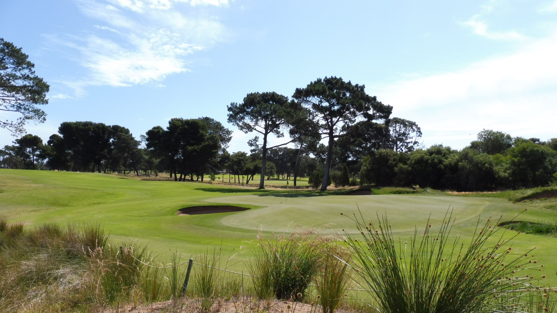 glenelg golf club 10th green aussie golf quest. Black Bedroom Furniture Sets. Home Design Ideas