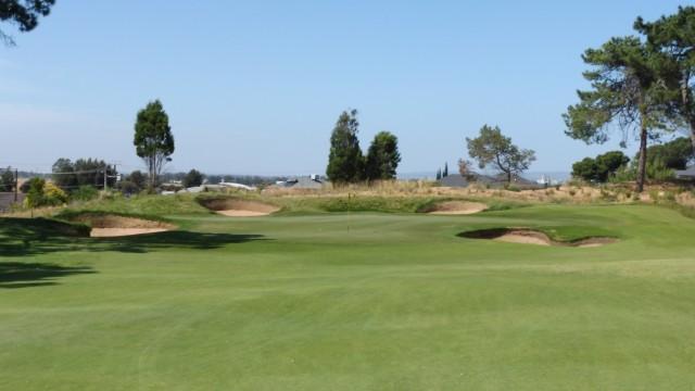 The 10th Green at Glenelg Golf Club