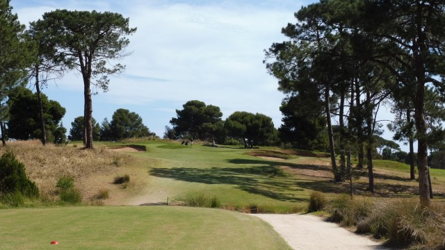 The 11th Tee at Glenelg Golf Club