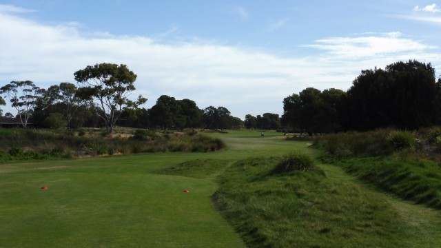 The 17th Tee at Glenelg Golf Club