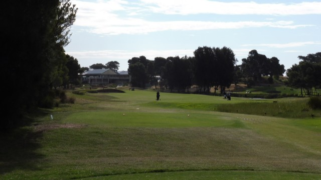 The 18th Tee at Glenelg Golf Club