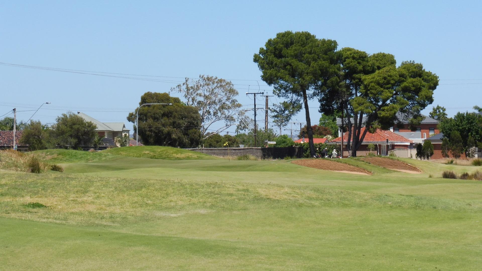 glenelg golf club 1st fairway aussie golf quest. Black Bedroom Furniture Sets. Home Design Ideas