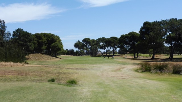 The 2nd Tee at Glenelg Golf Club