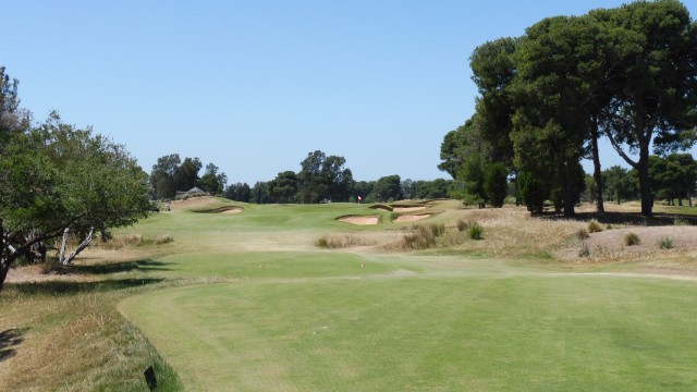 The 3rd Tee at Glenelg Golf Club