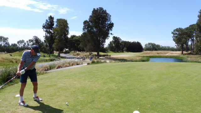 The 8th Tee at Glenelg Golf Club