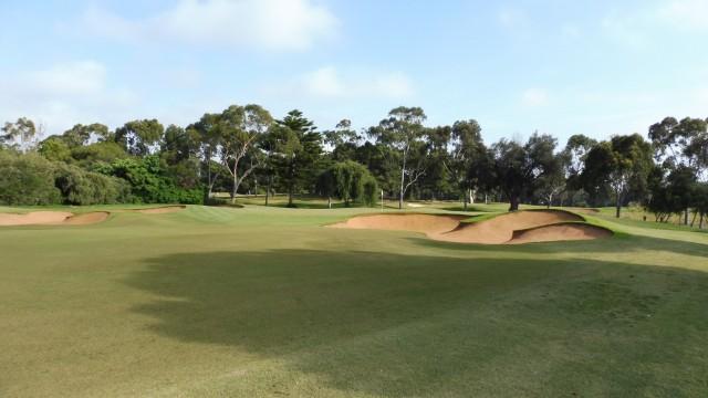 The 13th green at Kooyonga Golf Club