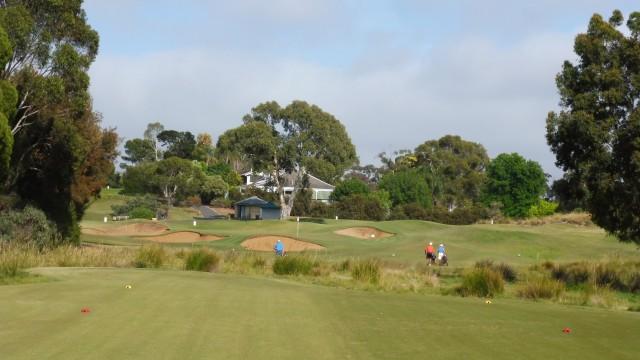 The 14th tee at Kooyonga Golf Club