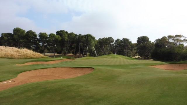 The 19th Green at Kooyonga Golf Club