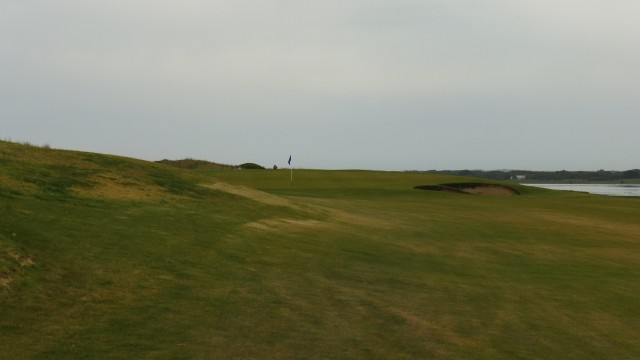 The 10th fairway at Port Fairy Golf Links