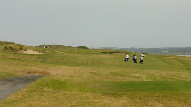 The 10th tee at Port Fairy Golf Links