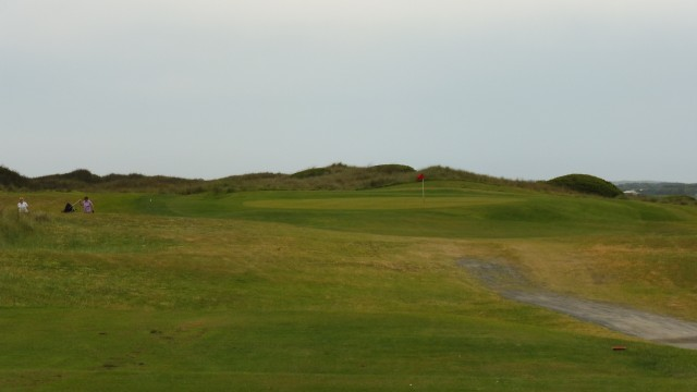 The 11th tee at Port Fairy Golf Links