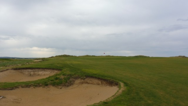 The 12th fairway at Port Fairy Golf Links