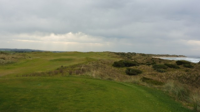 The 12th tee at Port Fairy Golf Links