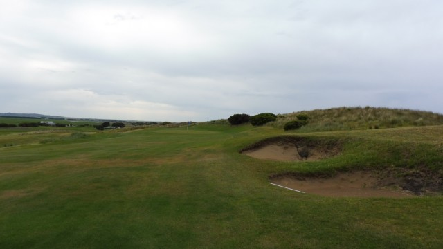 The 13th fairway at Port Fairy Golf Links