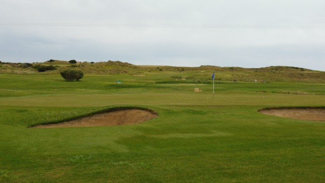 The 17th green at Port Fairy Golf Links