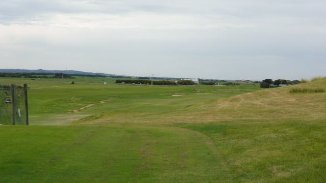 The 1st tee at Port Fairy Golf Links