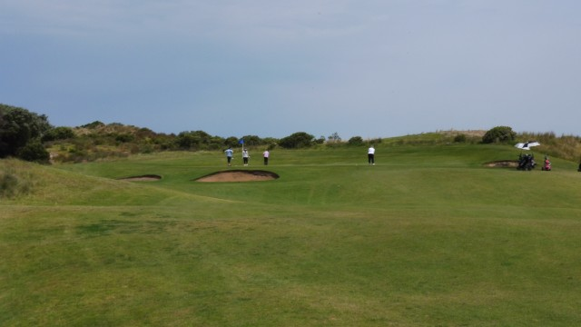 The 3rd fairway at Port Fairy Golf Links