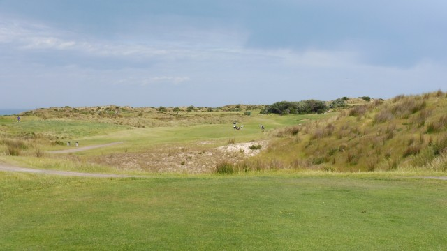 The 3rd tee at Port Fairy Golf Links