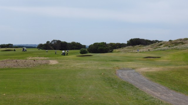 The 4th tee at Port Fairy Golf Links