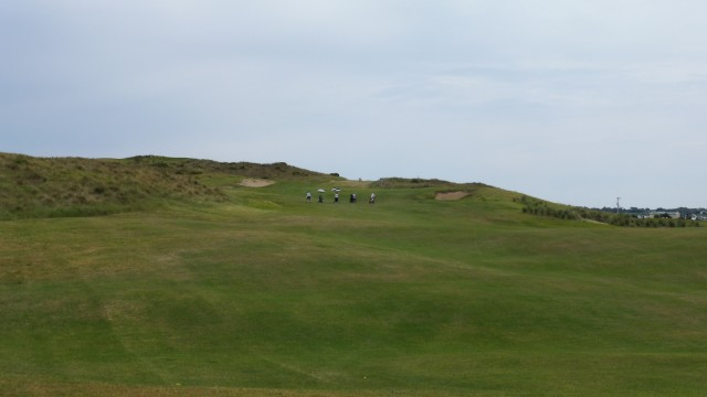 The 5th fairway at Port Fairy Golf Links
