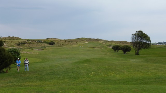 The 5th tee at Port Fairy Golf Links
