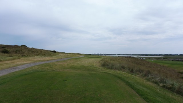 The 6th tee at Port Fairy Golf Links