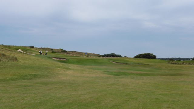 The 7th fairway at Port Fairy Golf Links
