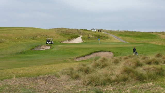 The 7th green at Port Fairy Golf Links