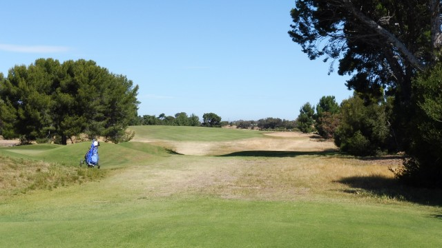 The 10th tee at Royal Adelaide Golf Club