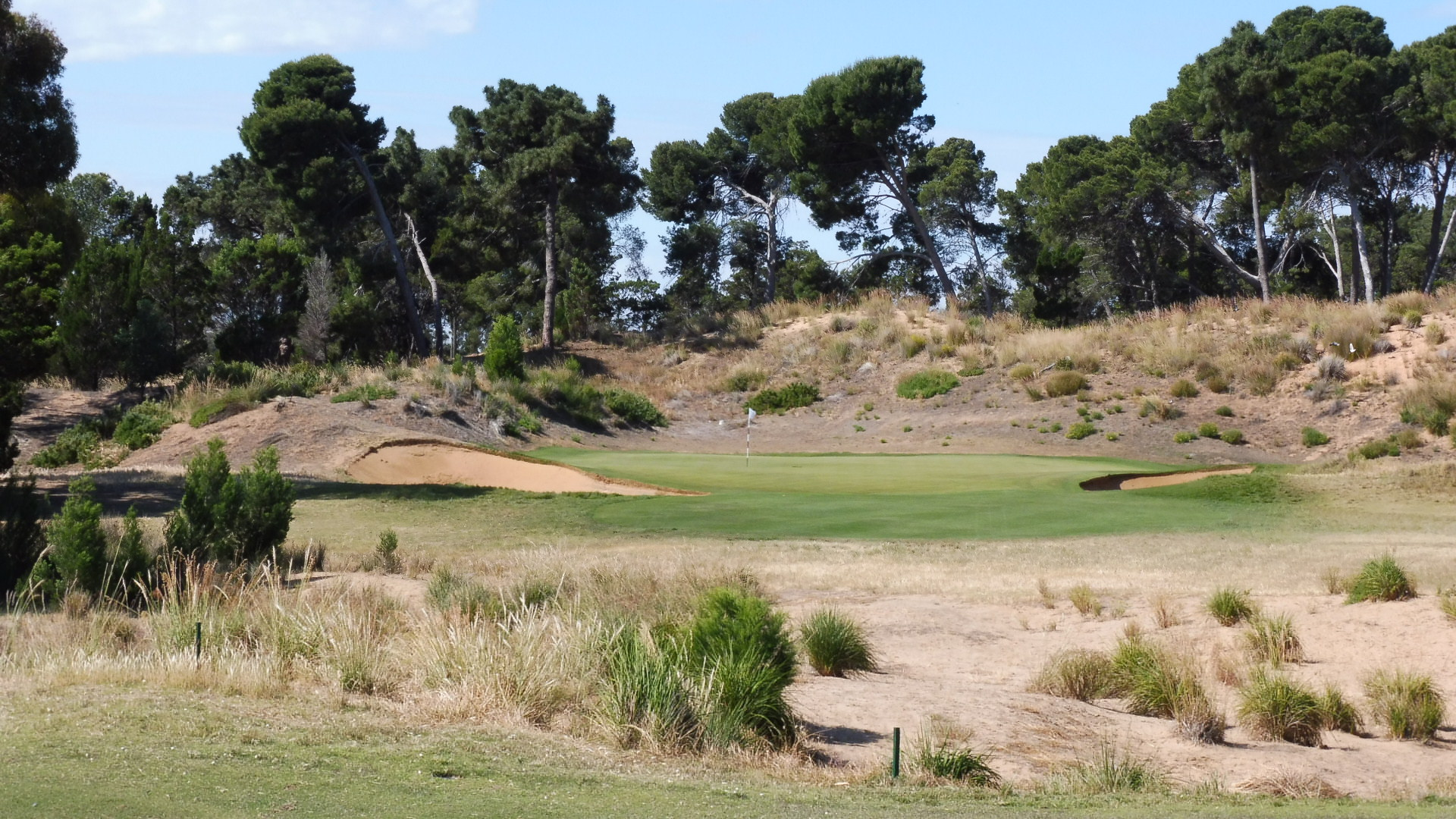 The 11th fairway at Royal Adelaide Golf Club