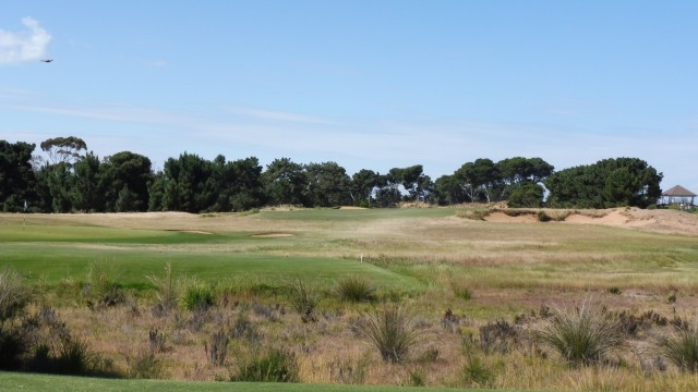 The 11th tee at Royal Adelaide Golf Club