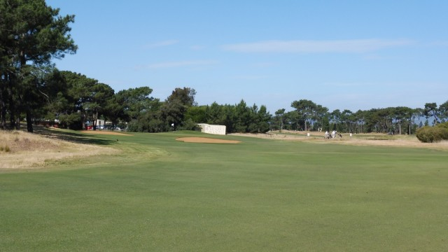 The 13th fairway at Royal Adelaide Golf Club