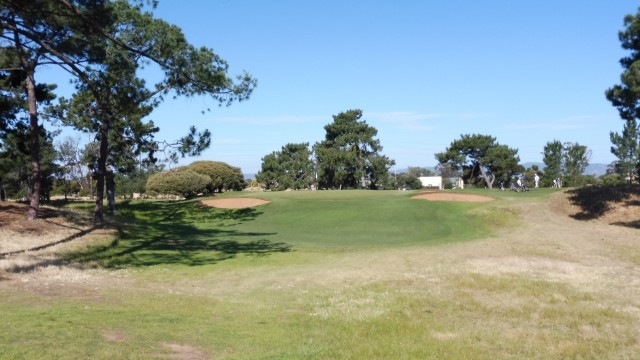 The 14th fairway at Royal Adelaide Golf Club