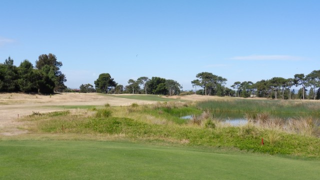The 14th tee at Royal Adelaide Golf Club