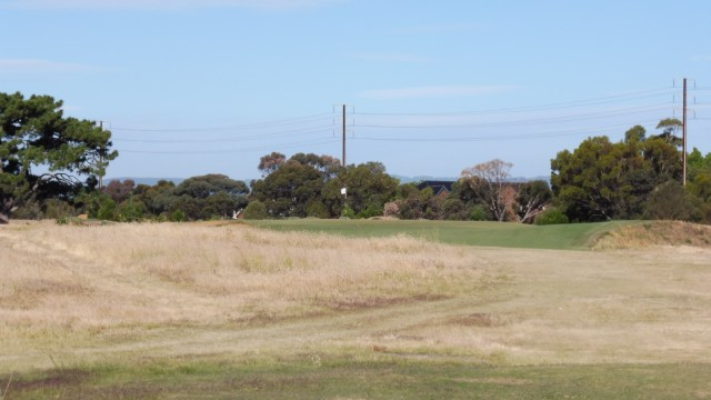 The 16th tee at Royal Adelaide Golf Club