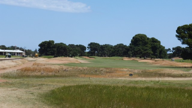 The 2nd tee at Royal Adelaide Golf Club